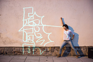 Dancing Graffiti - There's always a wall