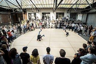 Weltkunstzimmer - Urban Dance Day © D. Matvejev